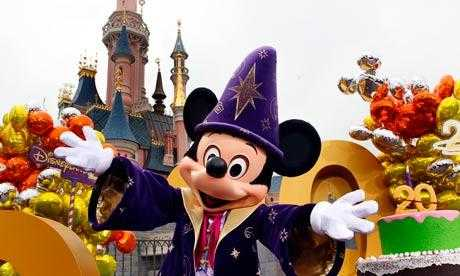 Mickey Mouse helps launch Disneyland Paris's 20th birthday