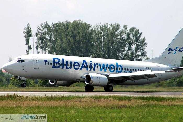 YR-BAL Blue Air - Boeing 737-484