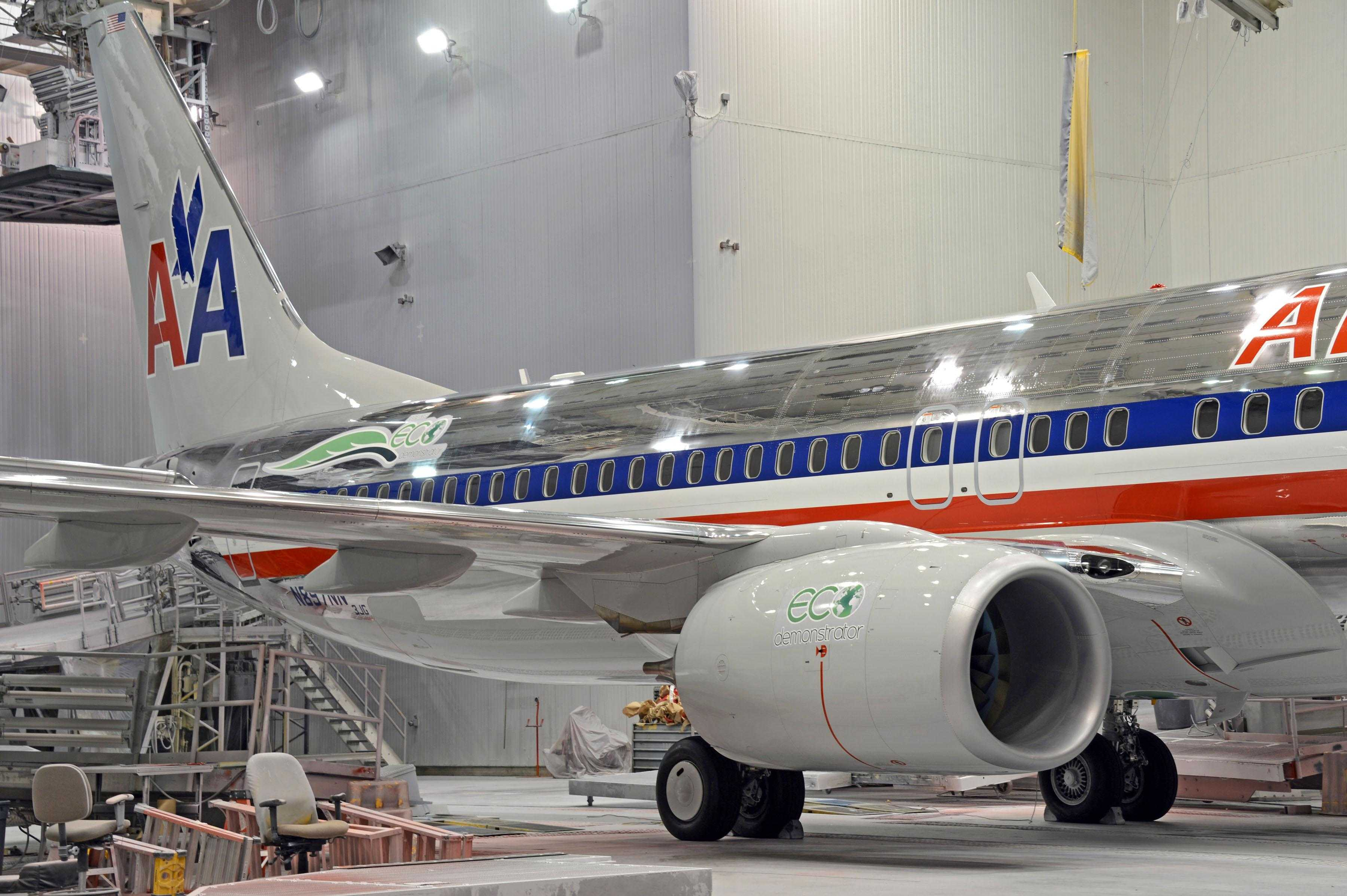American Airlines 737 Eco Demonstrator