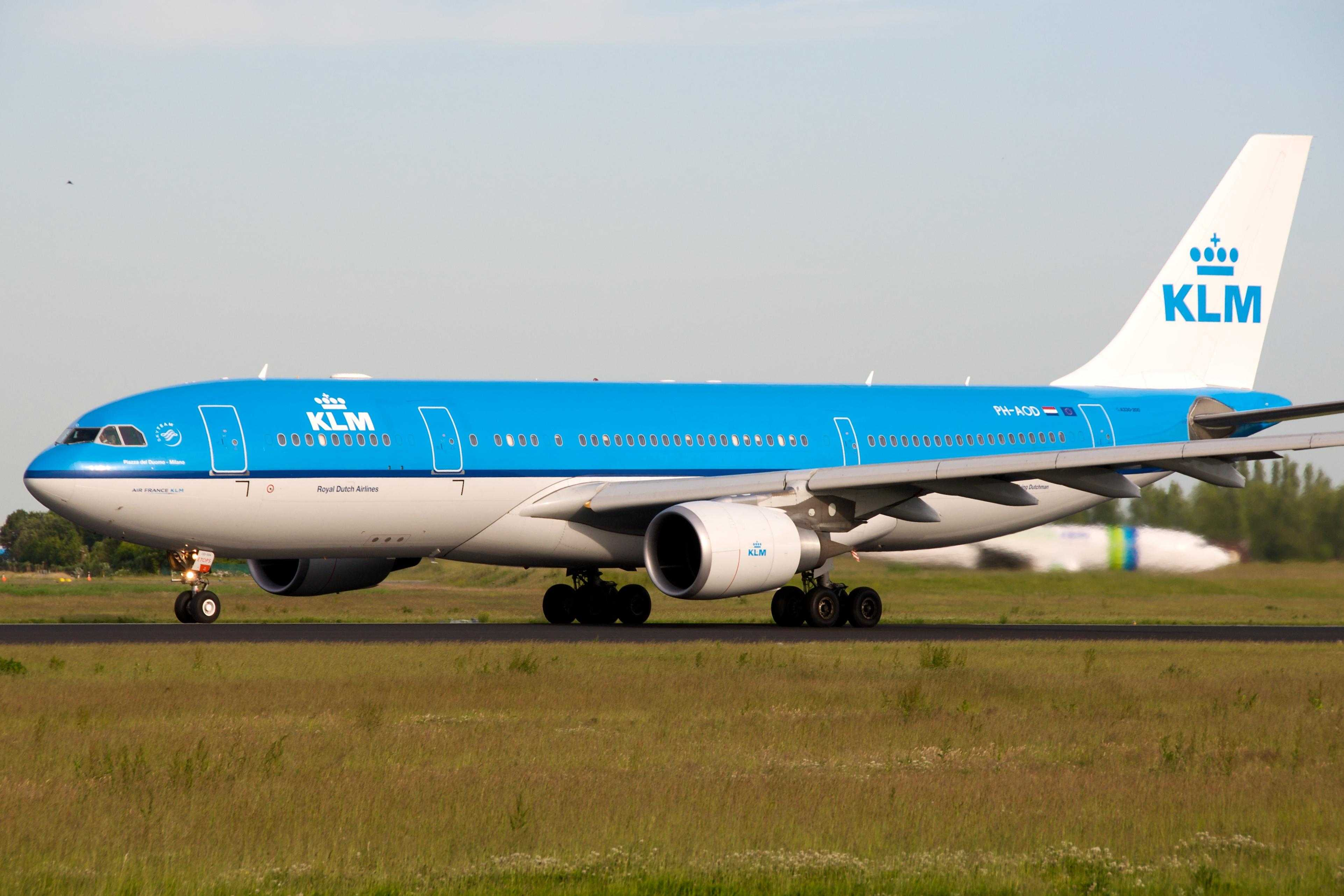 KLM A330-200 PH-AOD