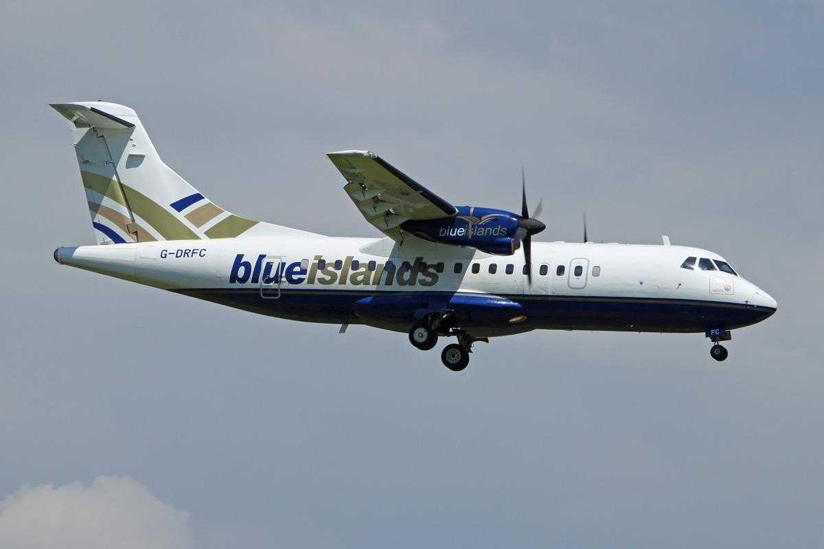 Blue Islands - ATR 42-320 - G-DRFC - 6769 NET