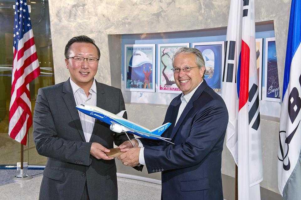 Boeing and Samsung Electronics - Memorandum of Understanding for R&D