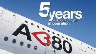 5 ani Airbus A380