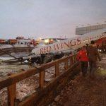 Tupolev-204 yolcu püskürtmeli kilitlenme landed_4
