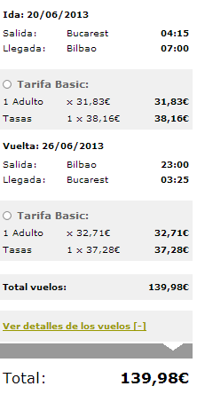 Bükreş Bilbao Bükreş