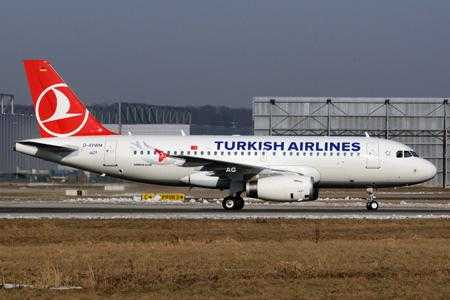 A319 Turkish Airlines