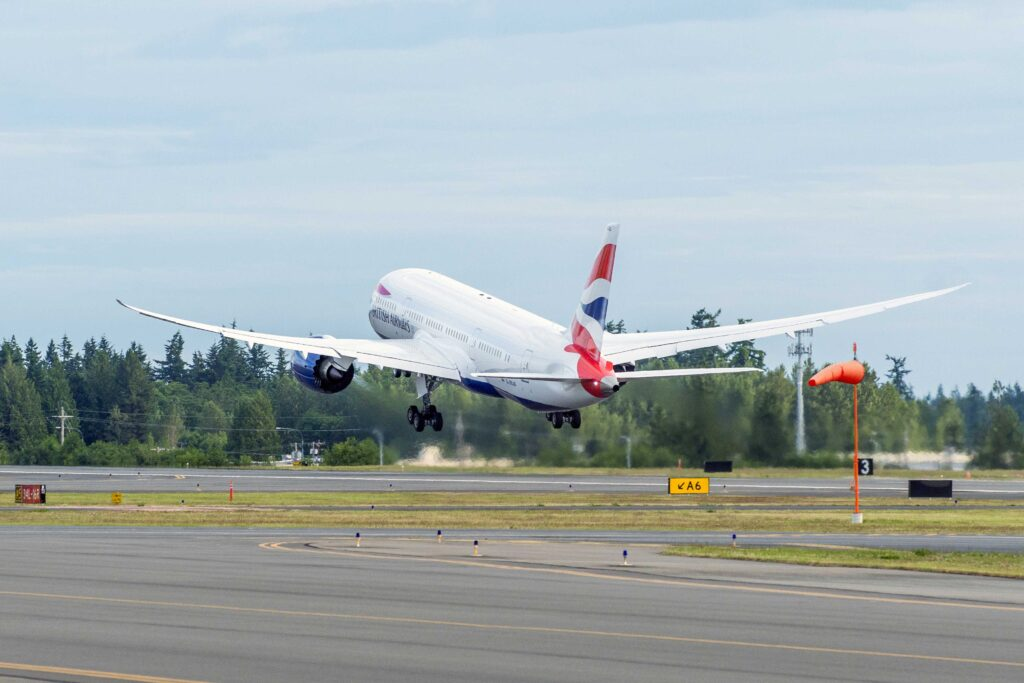 787 British Airways