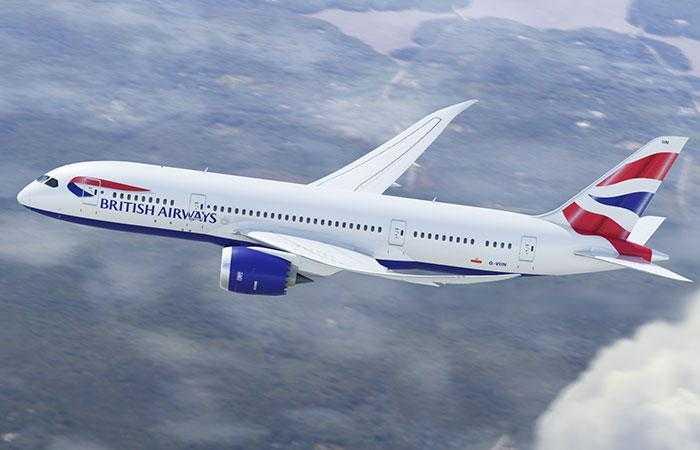 787 Британские авиалинии 1