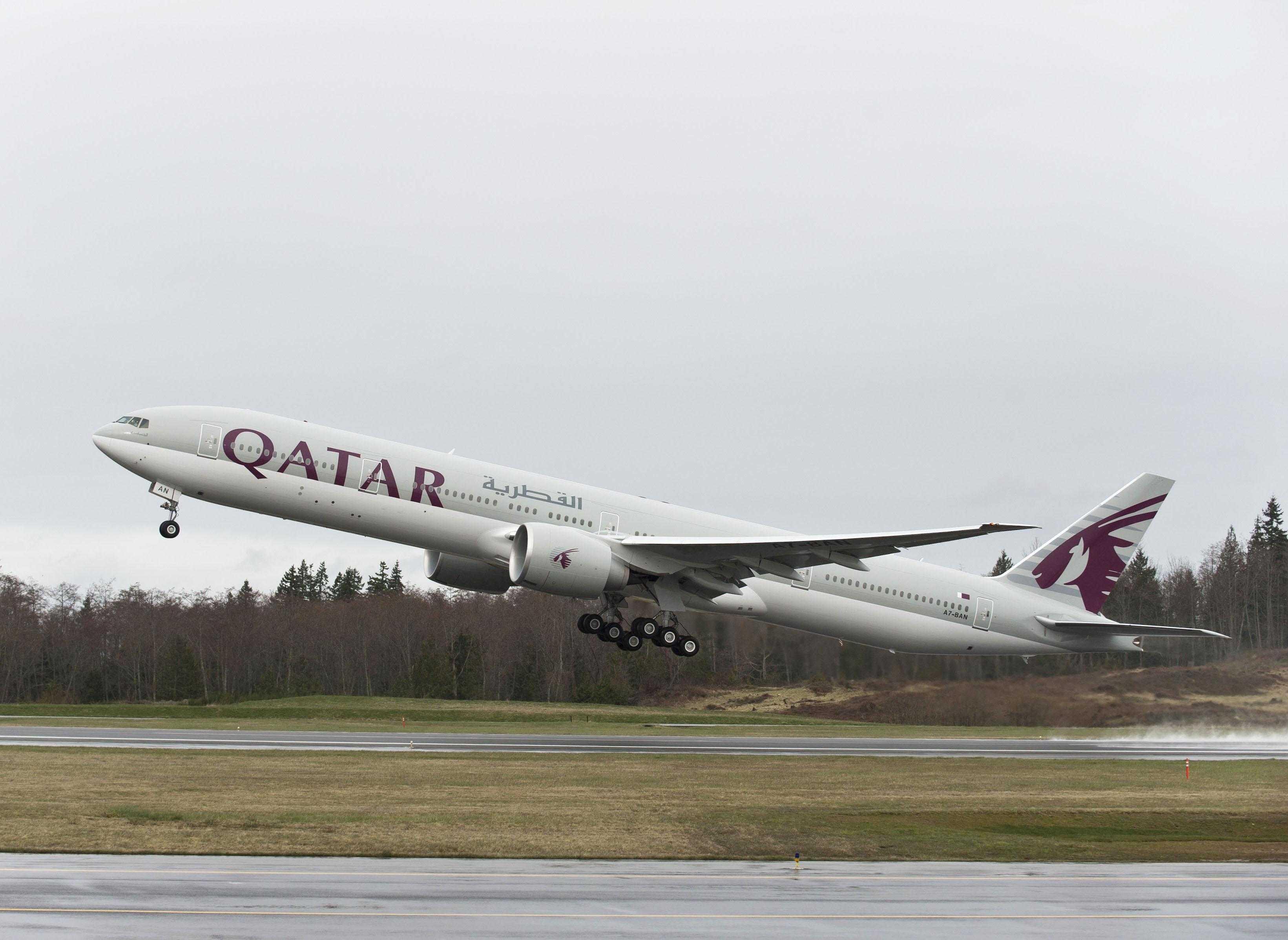 777 QTR Takeoff