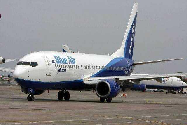 Blue Air a reprogramat zborurile Bucureşti – Bruxelles – Bucureşti, din 23 martie 2016
