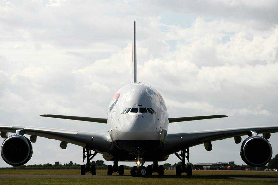 A380 British Airways Cardiff 2