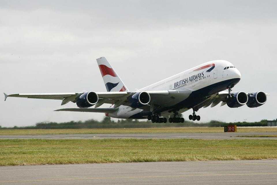A380 British Airways Cardiff 5