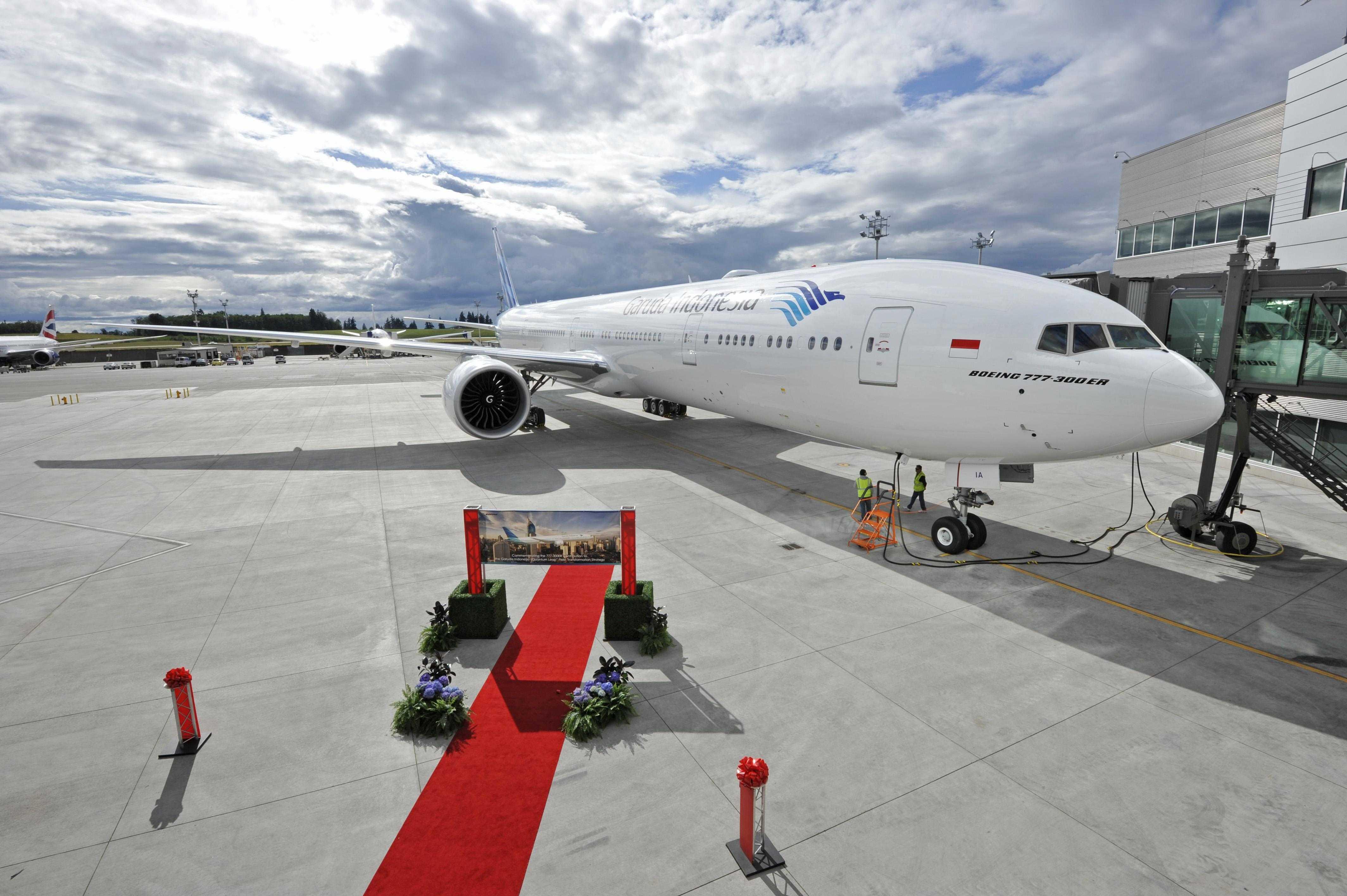 Garuda indonesia boeing 777 300