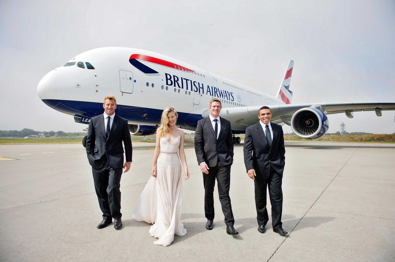British Airways A380 Launch