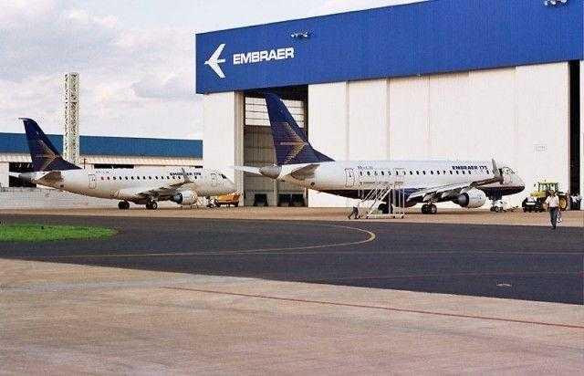 Embraer-plant