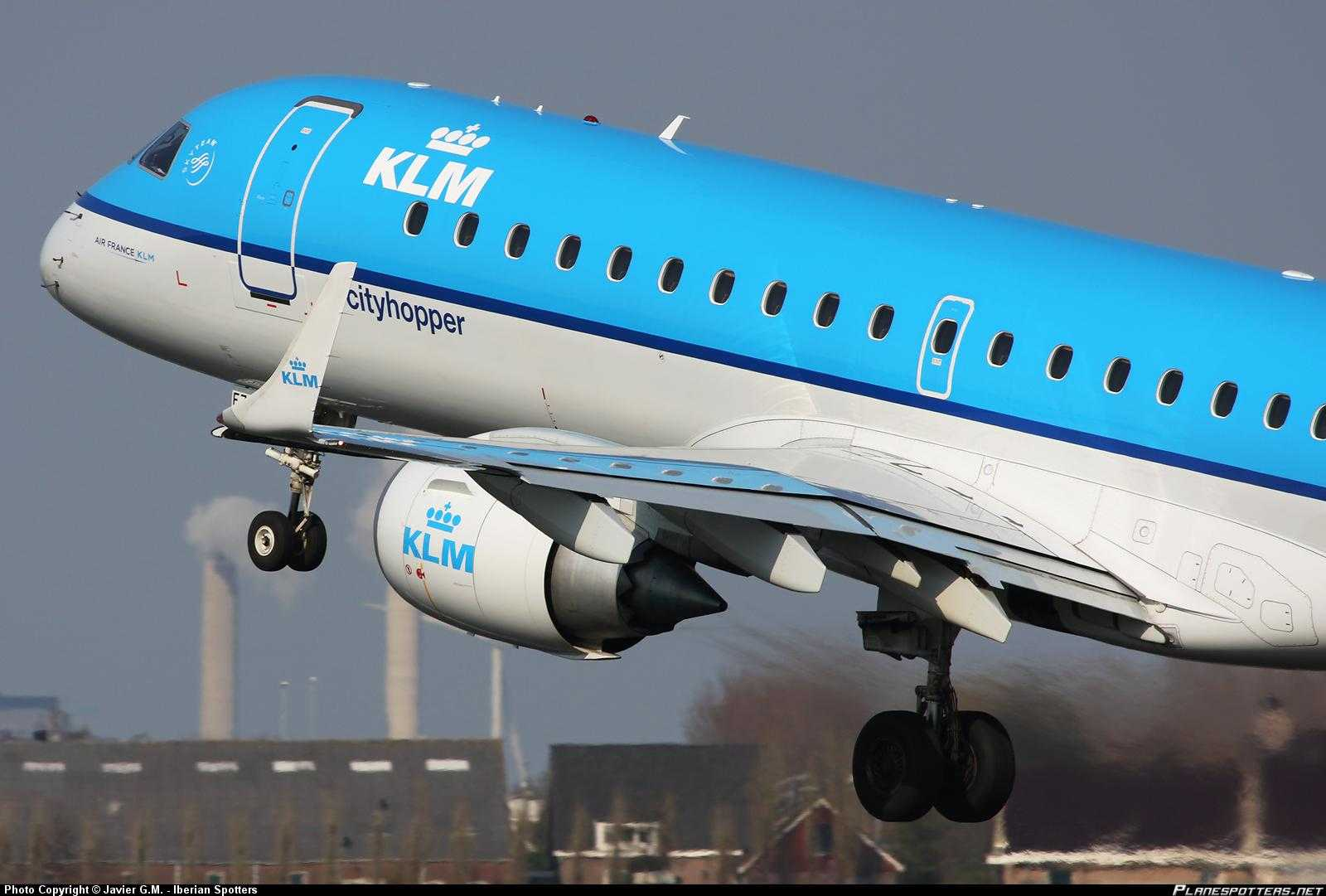 PH-EZH-KLM-Cityhopper-Embraer-ERJ-190