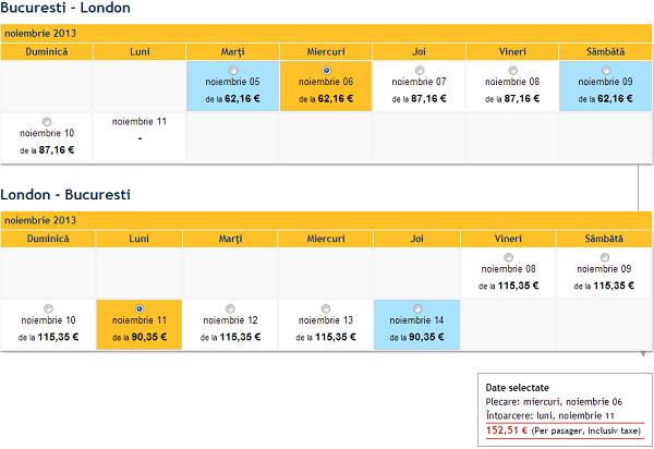 bilete avion tarom