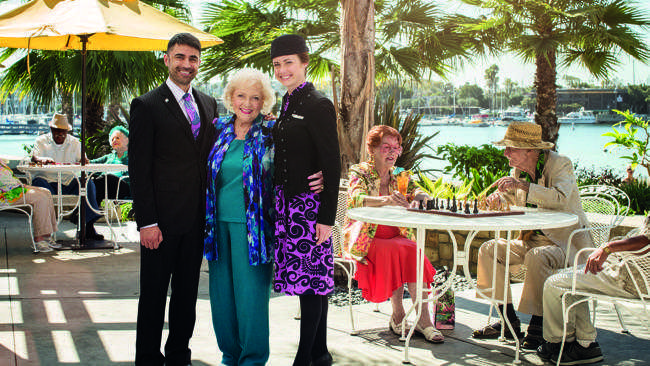 Betty White safety video Air New Zealand