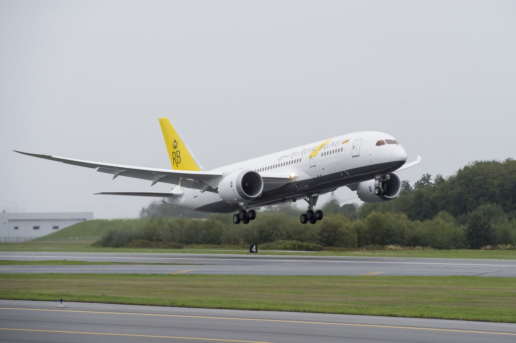 787 Dreamliner Royal Brunei Airlines