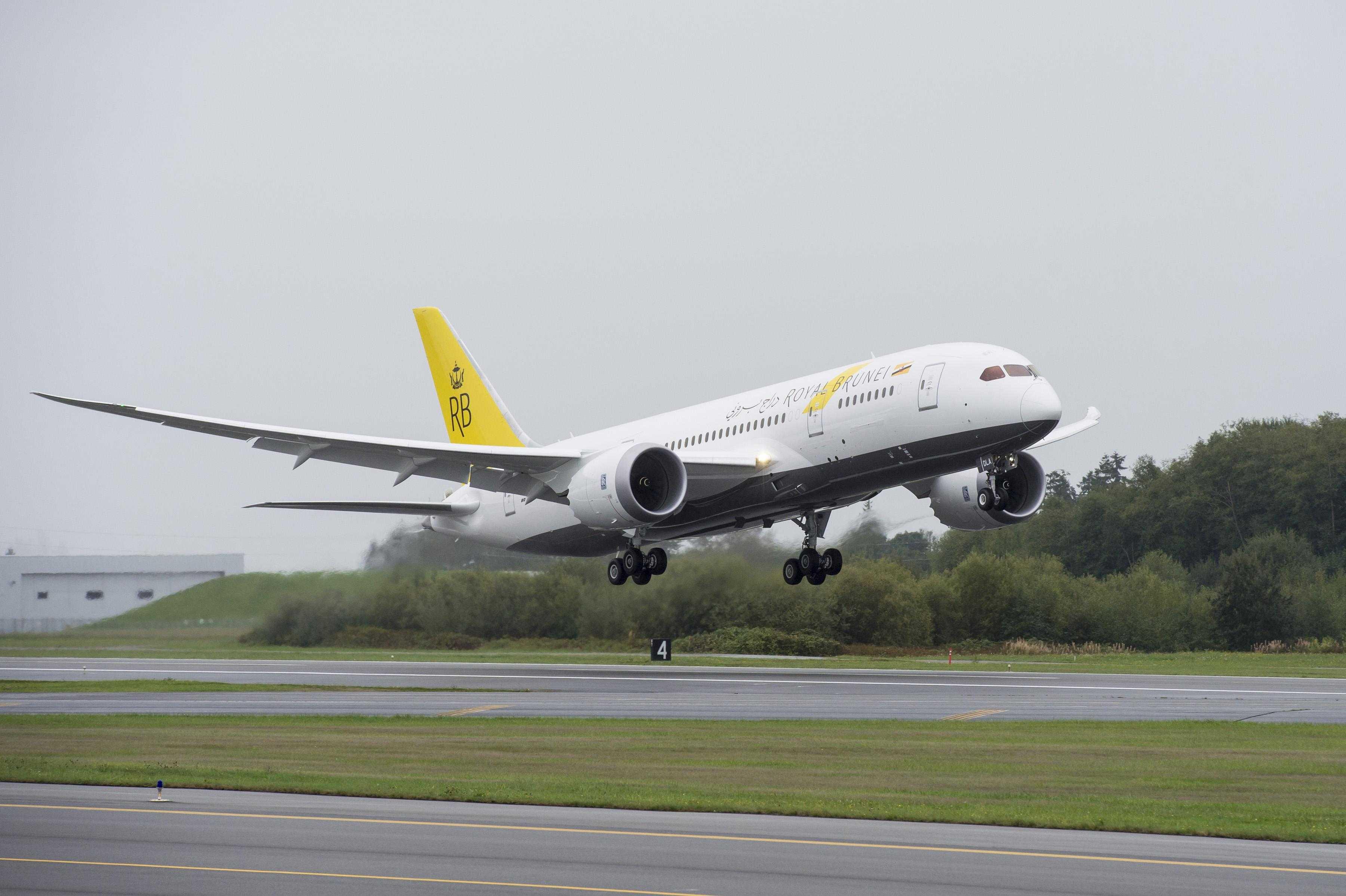 787 Dreamliner Royal Brunei Airlines