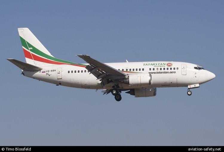 Boeing 737-500 Tatarstan Airlines