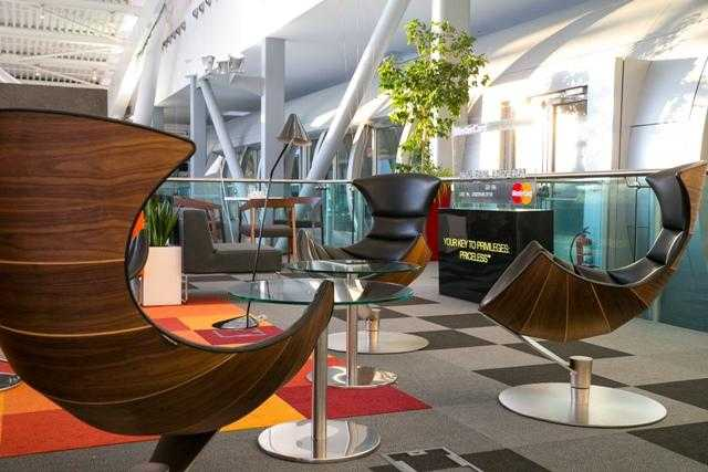 MasterCard Business Lounge
