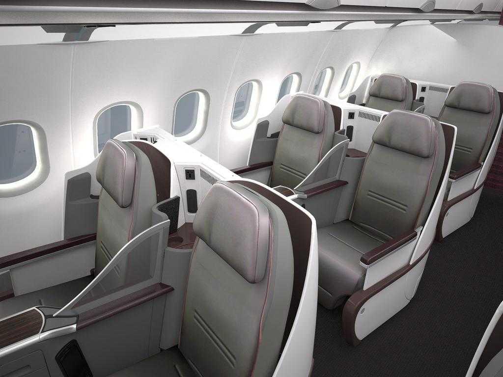 Doha londra heathrow cu aeronava airbus a319lr all for Interieur qatar airways