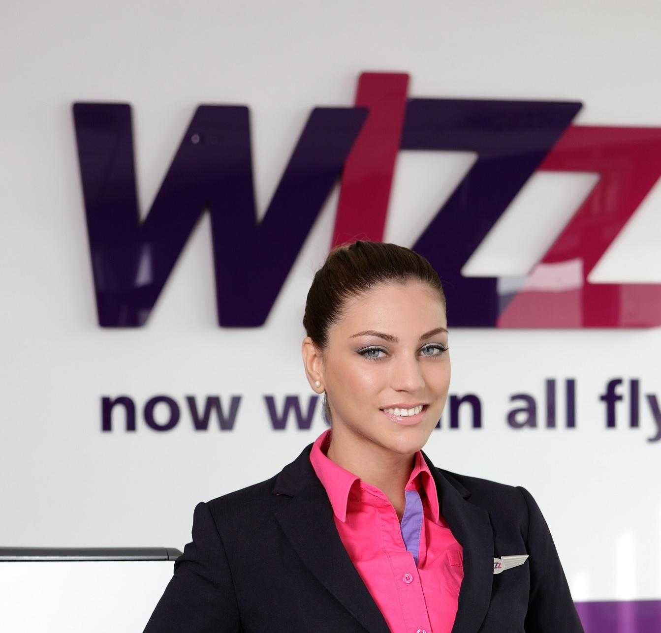 Alice Ciucur Ambasador Wizz Air in Romania