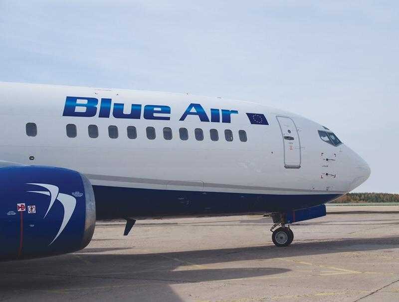 The new Blue Air livery