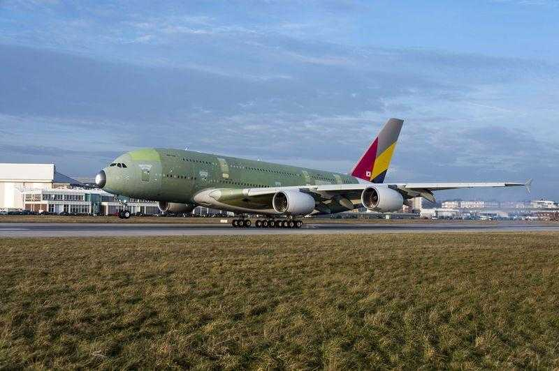 A380 Asiana Airlines