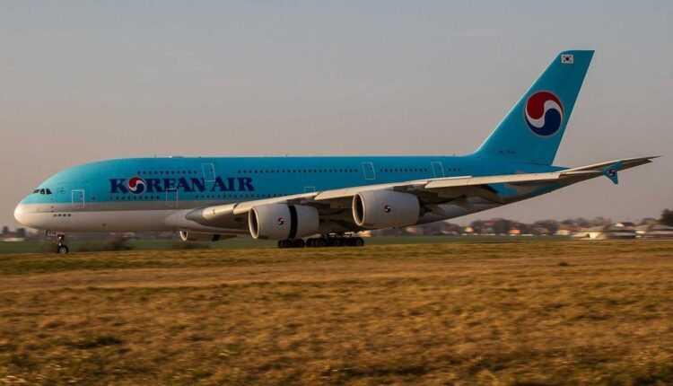 Airbus A380 Korean Air revine la Bangkok