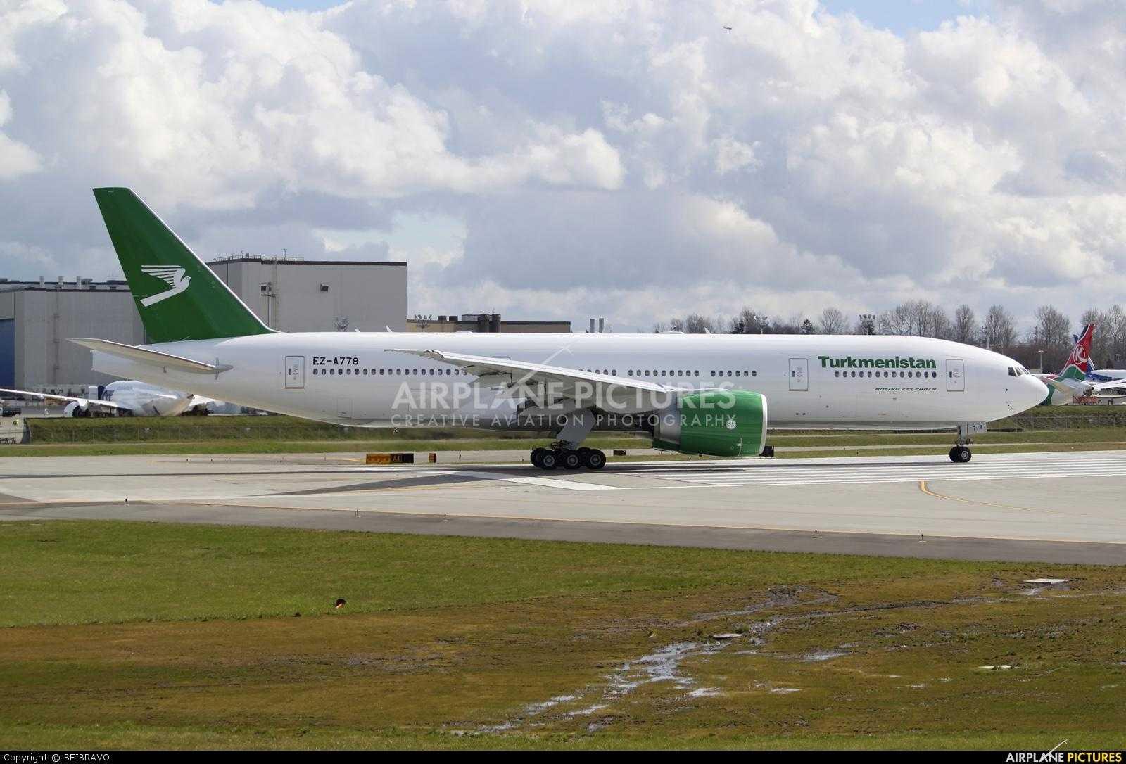 Boeing 777-200LR Turkmenistan