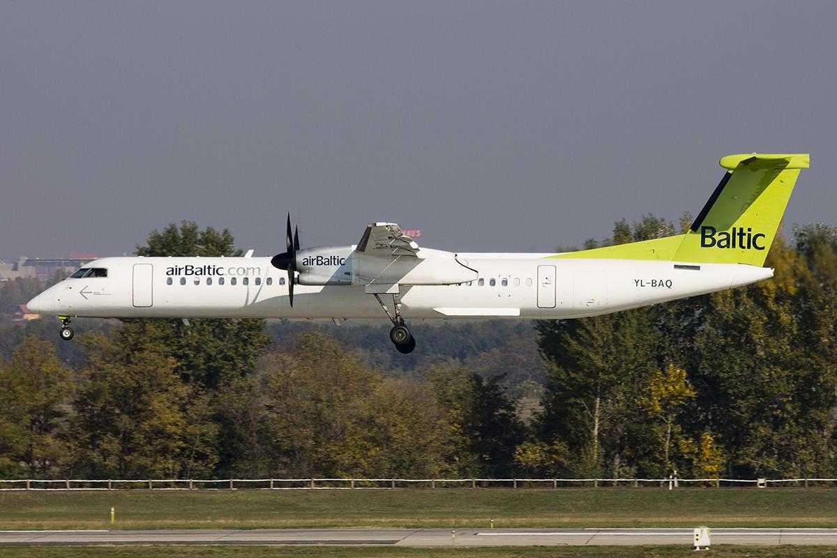 Bombardier Q400 NextGen airBaltic