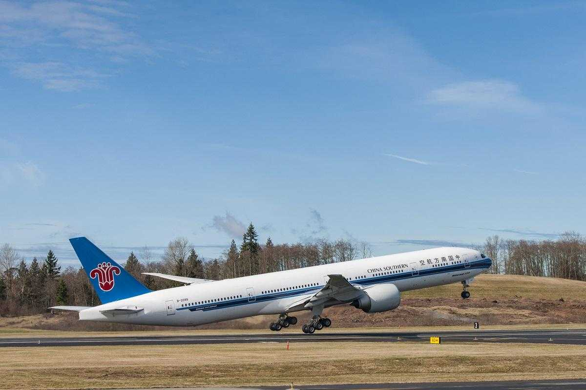 777 GUN China Southern Delivery Event