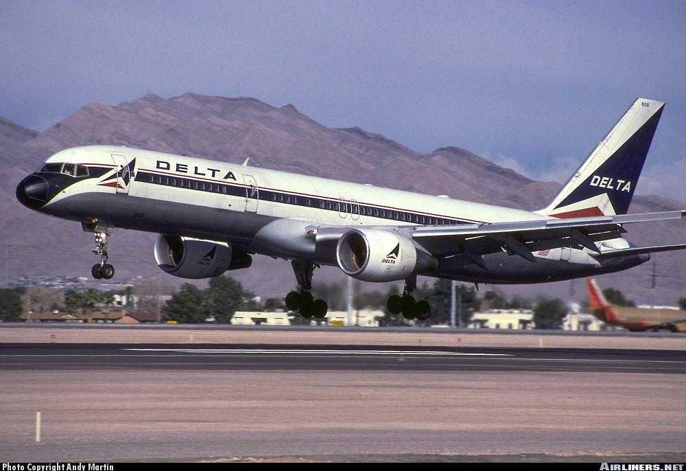 N608DA Boeing 757 Delta