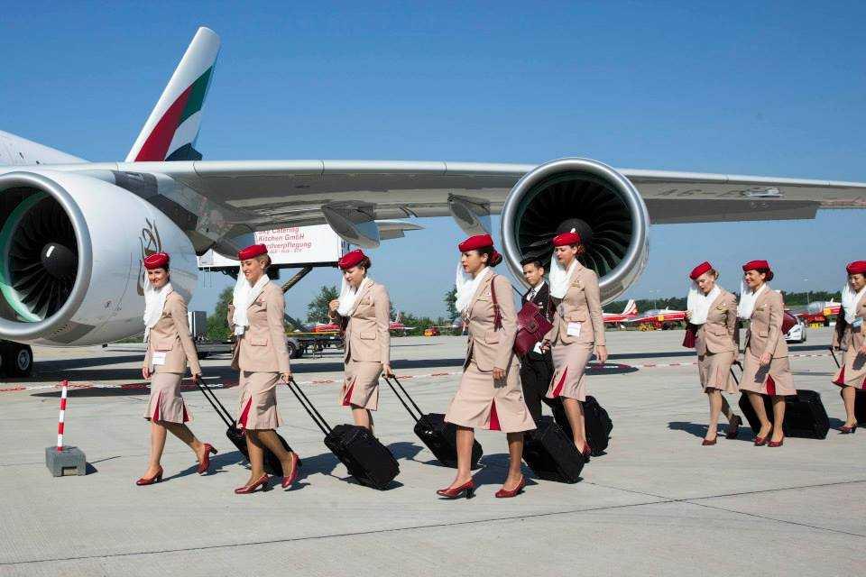 Echipaj de cabina Emirates