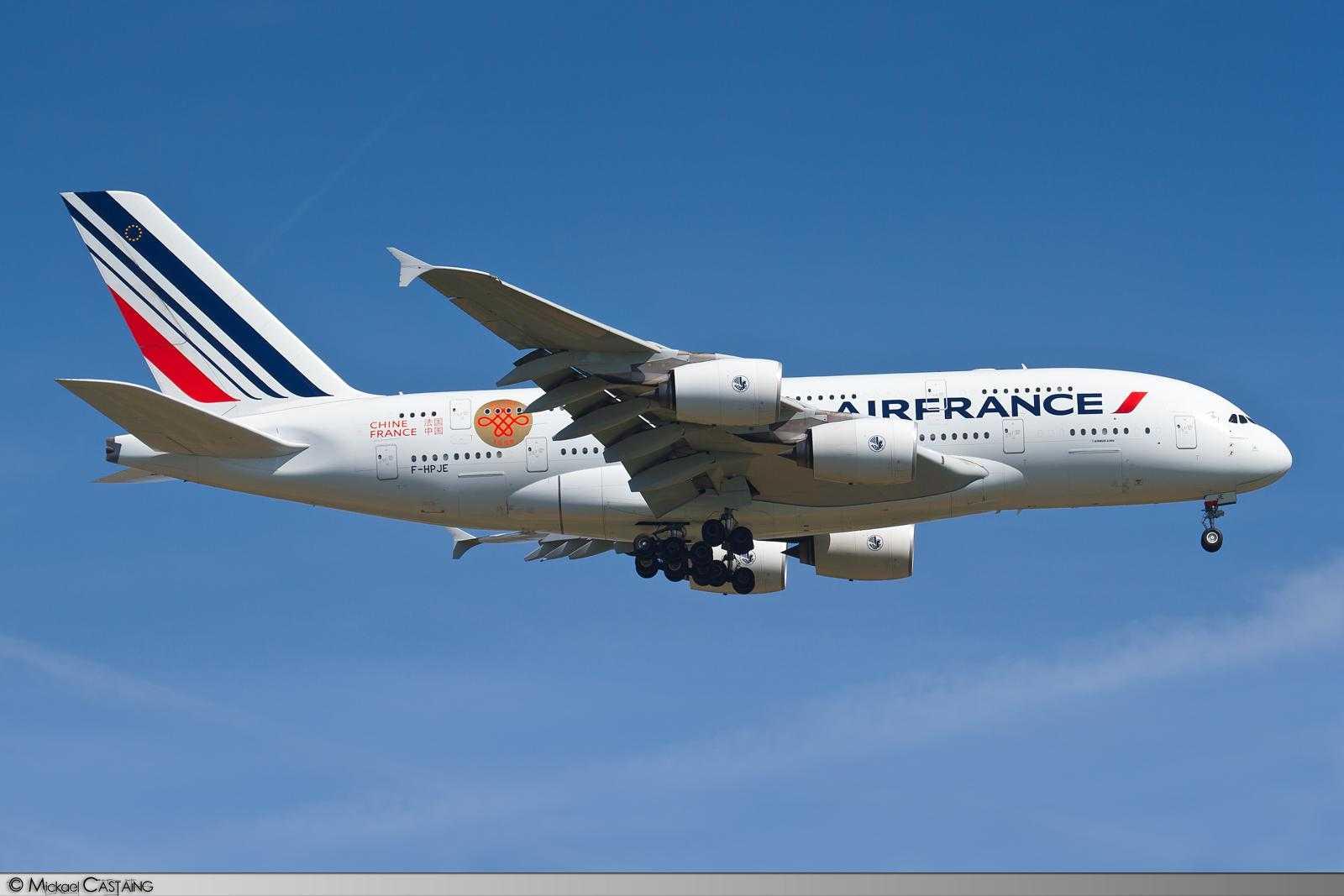 Air France A380 F-HPJE