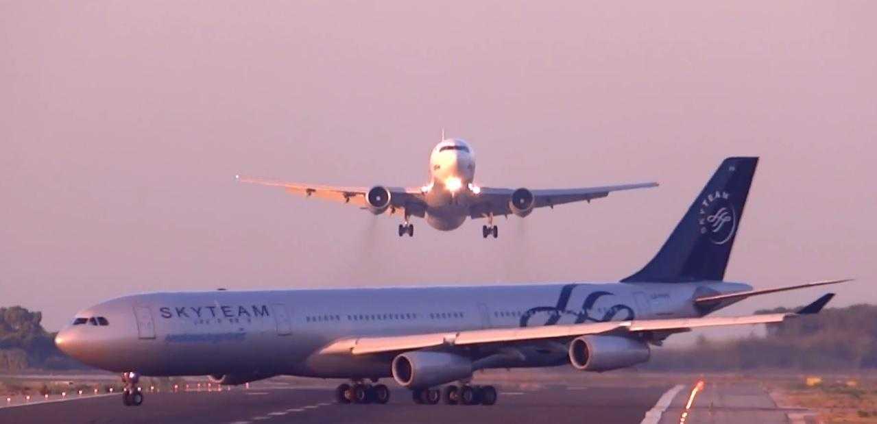 B767_A340_El_Prat_barcelona