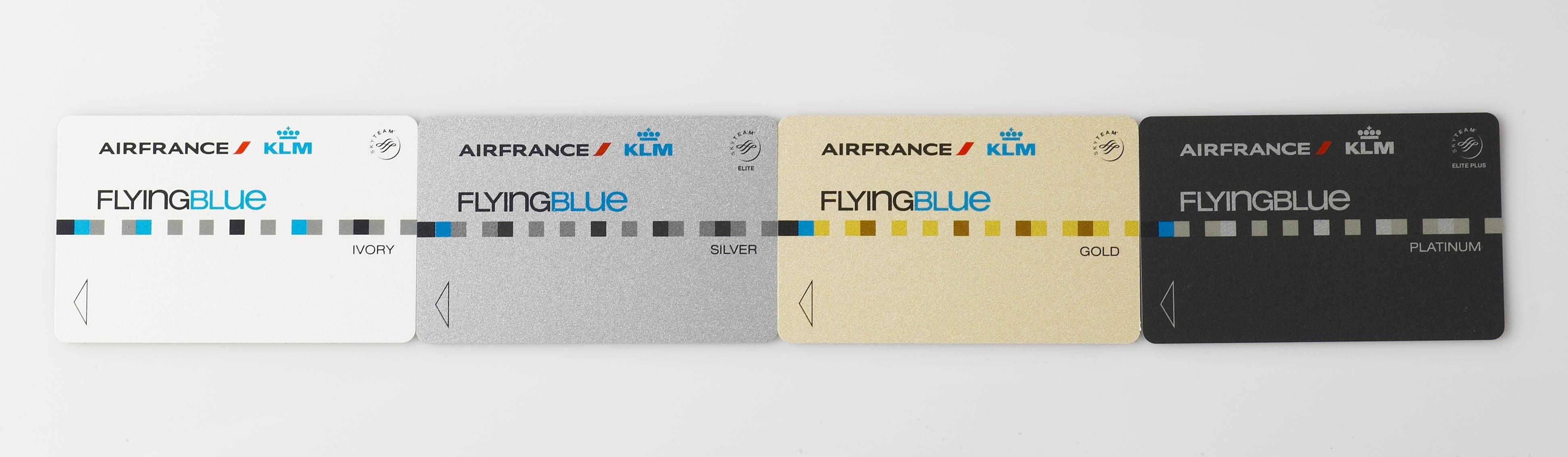Win Two Flying Blue Silver Loyalty Cards