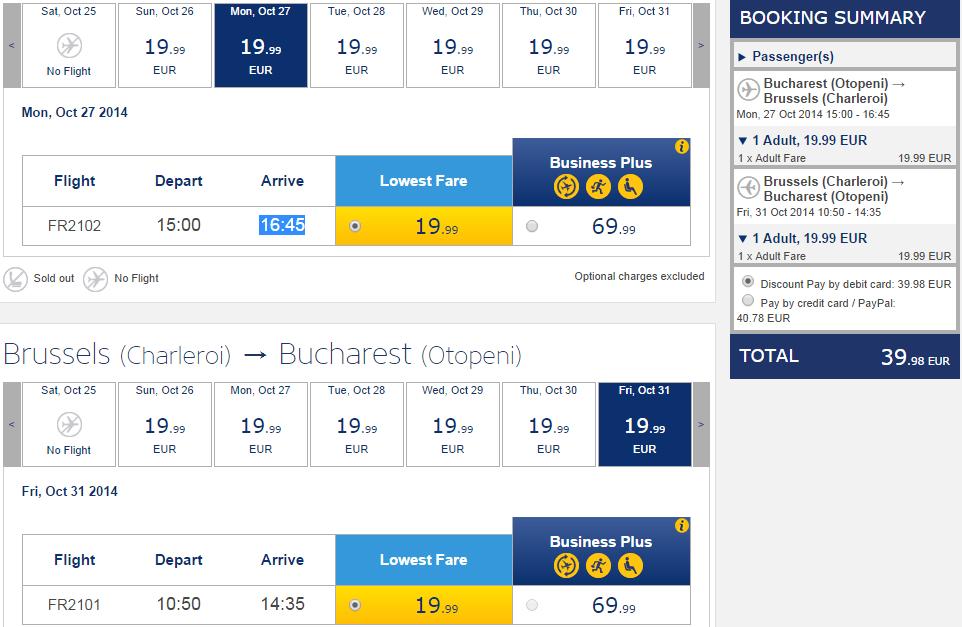 Bucuresti_Bruxelles_Ryanair