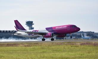 Wizz Air a anunţat primele rute din/spre Iaşi