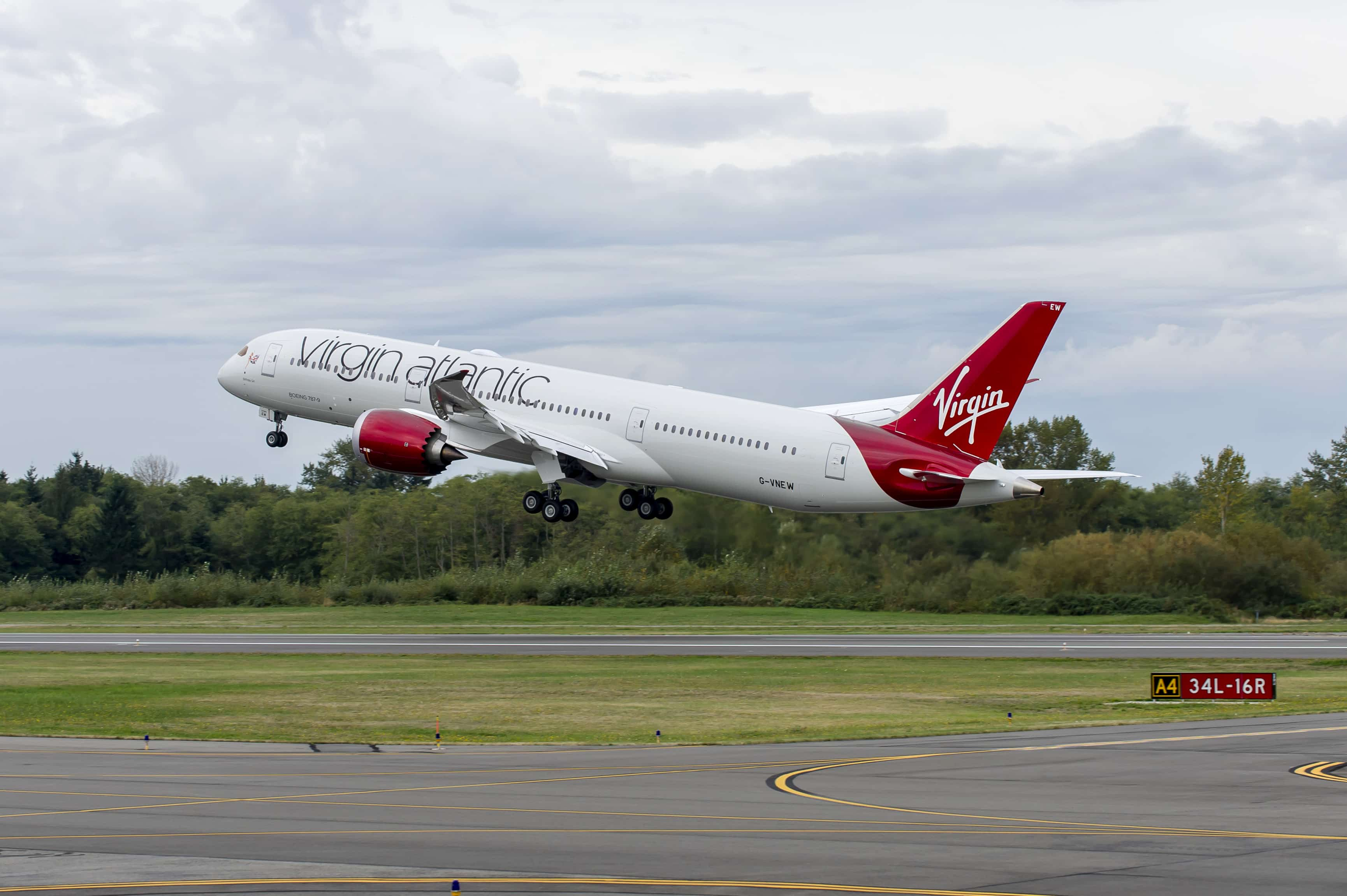 Boeing 787-9 Virgin