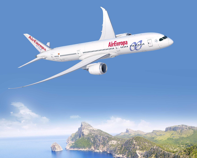 Air europa a comandat aeronave boeing 787 9 dreamliner for Interior 787 air europa