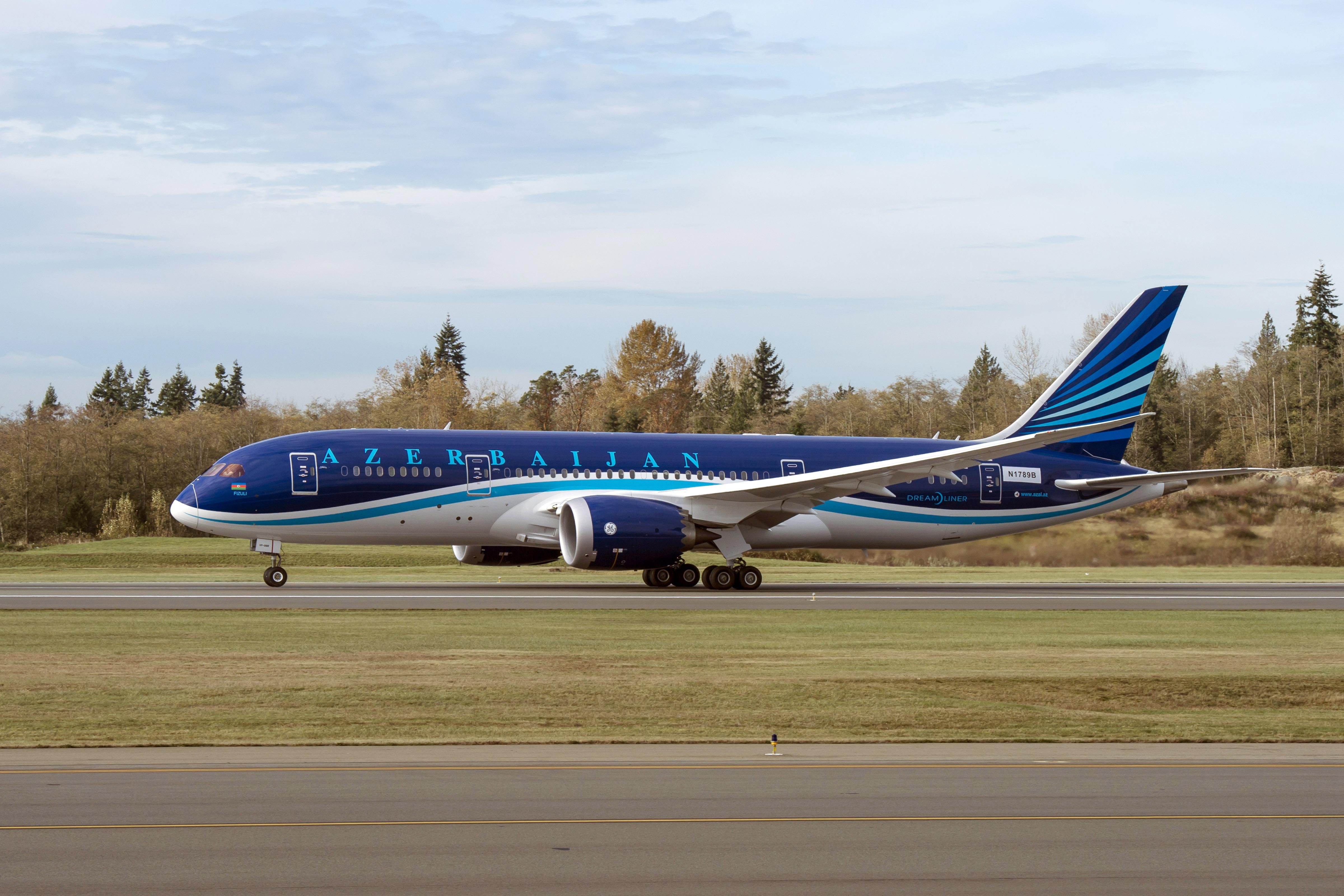 Azerbaijan Airlines 787-8