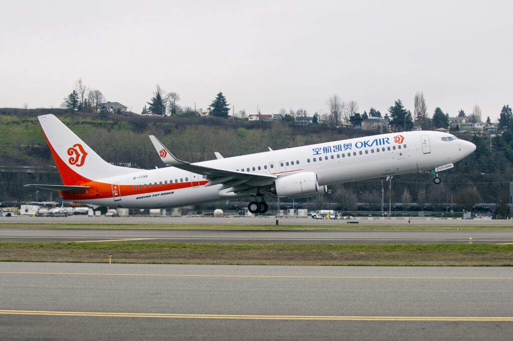 Boeing 737-900ER Okay Airways