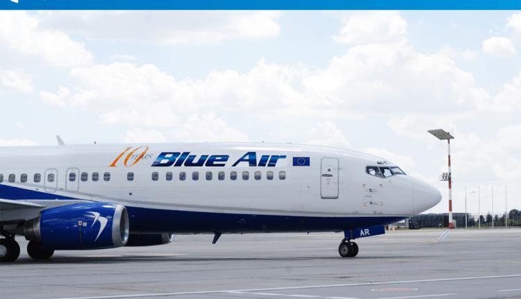 Blue Air: baza Iaşi – rutele noi operate în orarul de vară 2016