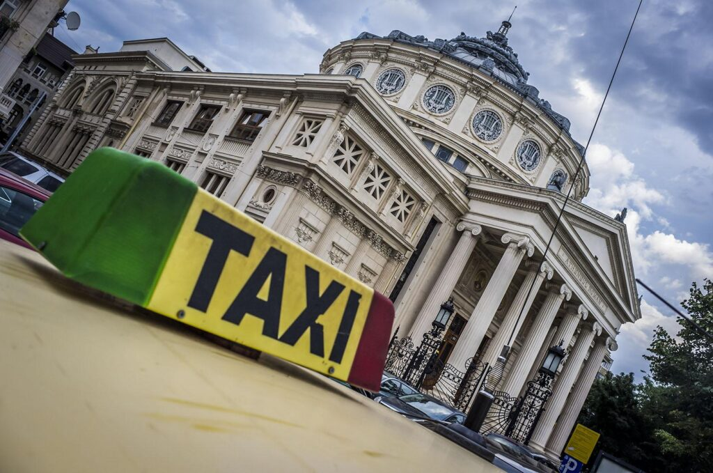 Bucharest airport taxi