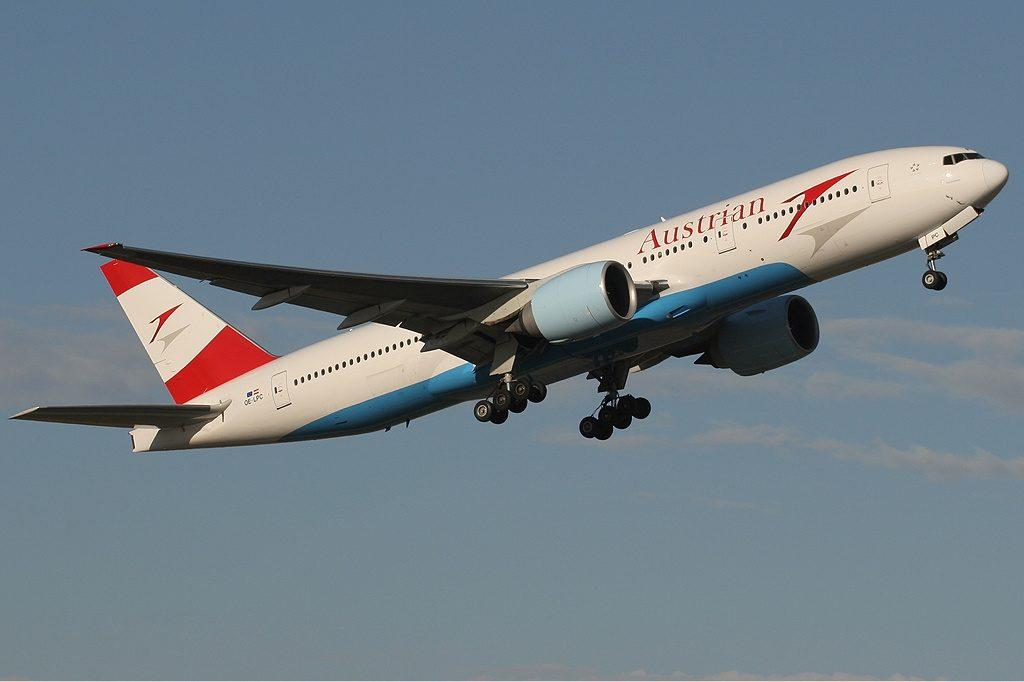 Avusturya Havayolları Boeing 777-200ER