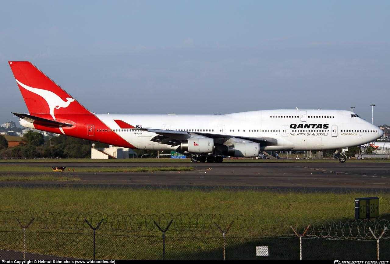 VH-OJA-Qantas-Boeing-747-400