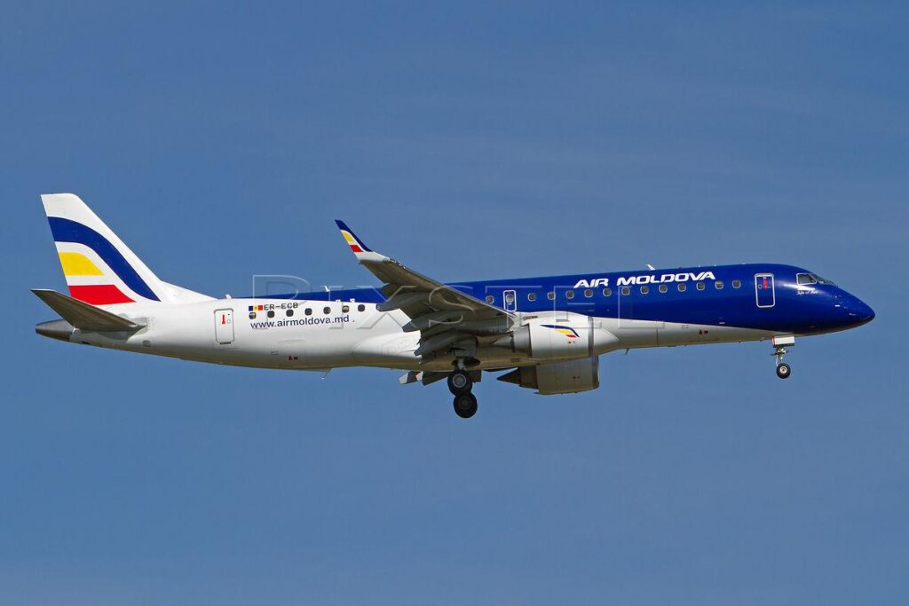 air-Moldova Embraer-e190